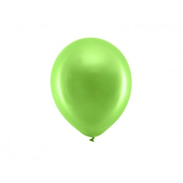 "10 stk Perle lysegrøn balloner - str 9"""