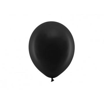 """10 stk Standard sort balloner - str 9"""""""