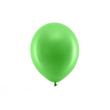 "10 stk Standard grøn balloner - str 9"""