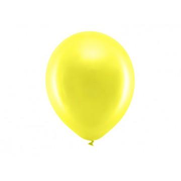 "10 stk Perle citron balloner - str 12"""