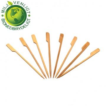 100 stk Bambusstikker GOLF 12 cm