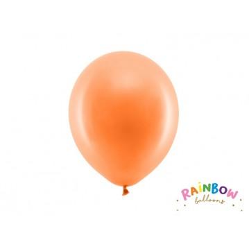 """10 stk Standard orange balloner - str 9"""""""