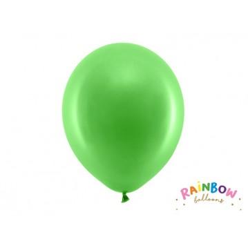 "10 stk Standard grøn balloner - str 12"""