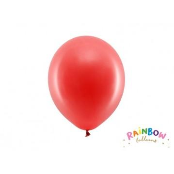 "10 stk Standard rød balloner - str 9"""