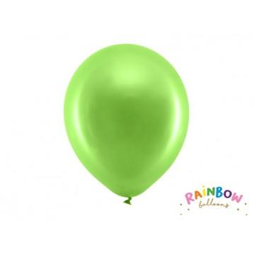 "10 stk Perle lysegrøn balloner - str 12"""