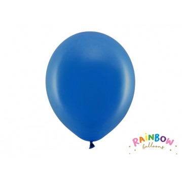 """10 stk Standard royal blå balloner - str 12"""""""