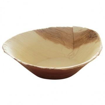 25 stk. Miljøskål - palmeblade 16 x 11 cm