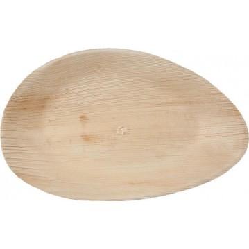 25 stk. Miljøtallerken - palmeblade 31x18 cm