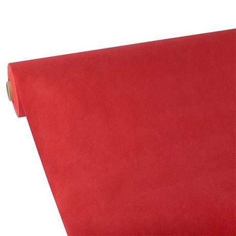 25m Rulledug rød fleece dug 1,18m