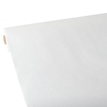 25m Rulledug hvid fleece dug 1,18m