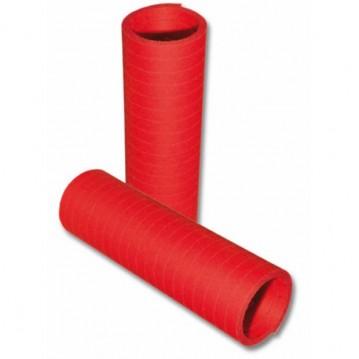 1 rl. Serpentiner rød 4 m a 20 stk