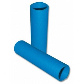 1 rl. Serpentiner blå brandhæmmende 4 m a 20 stk