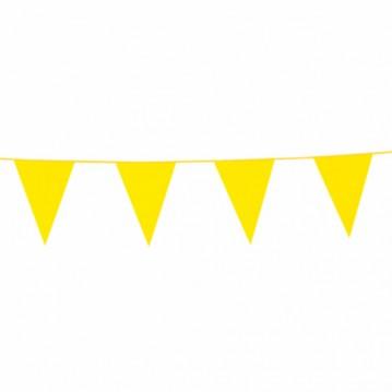 6 m. Vimpler gule - ind og udendørs