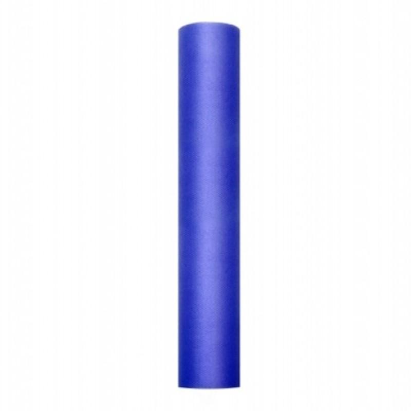 Billede af Tyl Marine blå 0,30 x 9 meter.