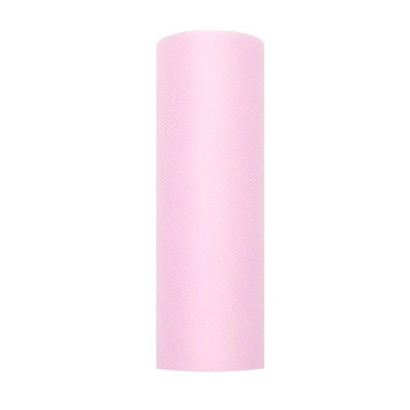 Billede af Tyl i Lys Pink 0,15 x 9 meter.
