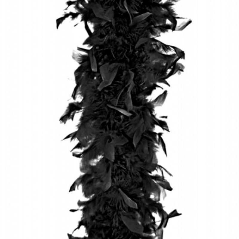 Image of   Fjerboa - Sort - 180 cm.