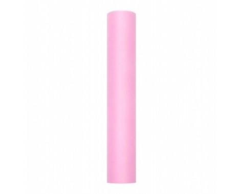 Tyl Lys Pink 0,30 x 9 meter.