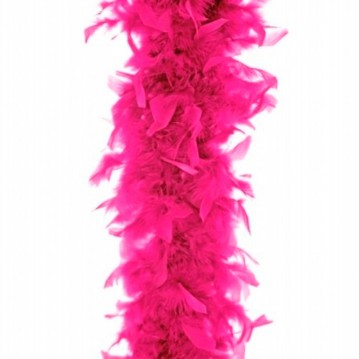 Fjerboa - Neon Pink - 180 cm.