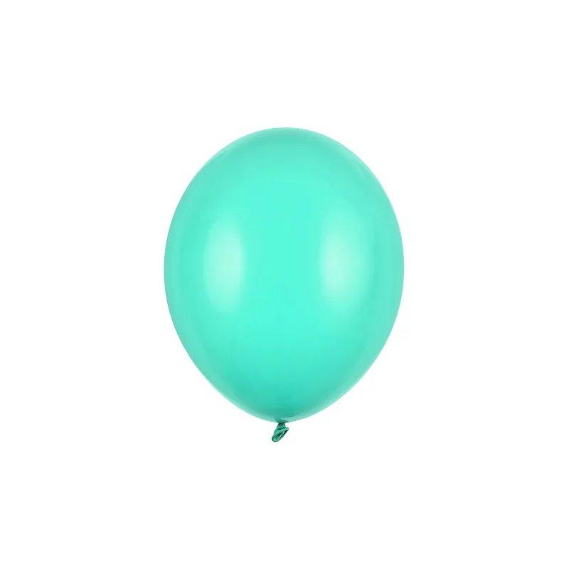 """Billede af 20 stk Standard mintgrøn balloner - str 10"""""""