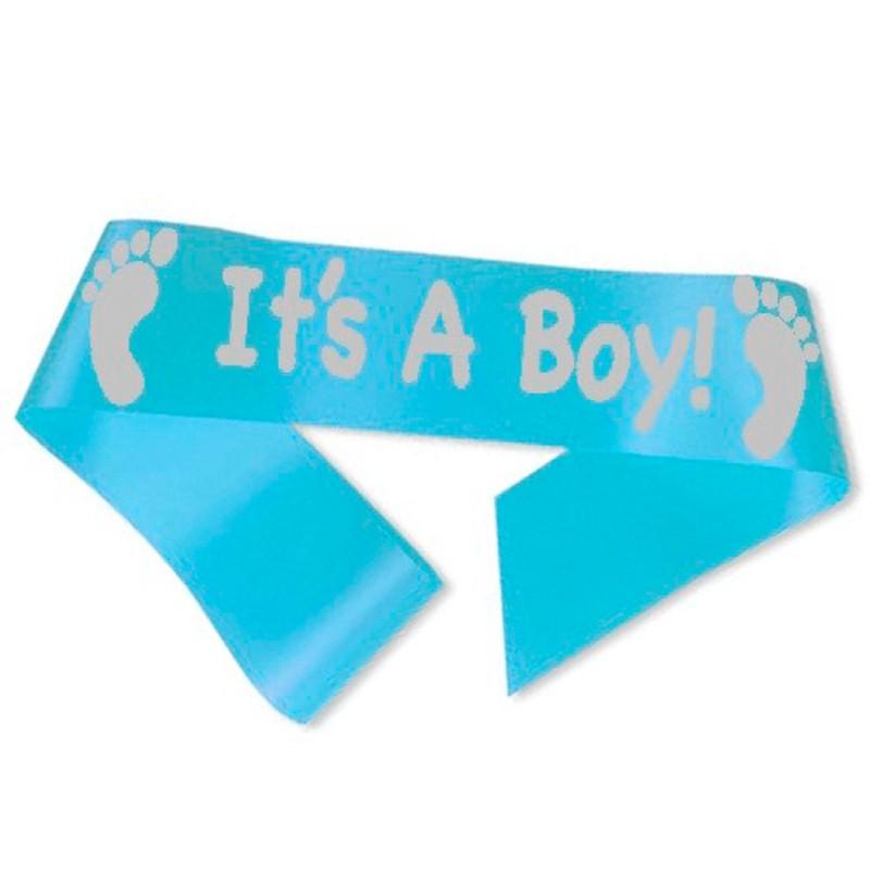 Billede af It´s A Boy! ordensbånd i lyseblå