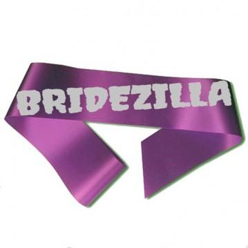 Bridezilla Ordensbånd lilla