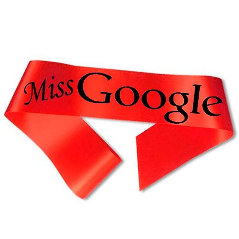 Billede af Miss Google Ordensbånd Rød
