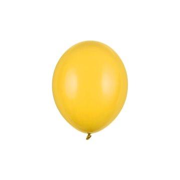 "100 stk Standard bright yellow balloner - str 10"""
