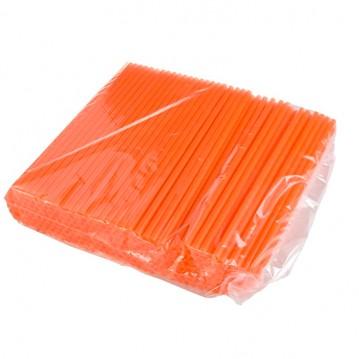 250 stk Shake sugerør orange 25cm