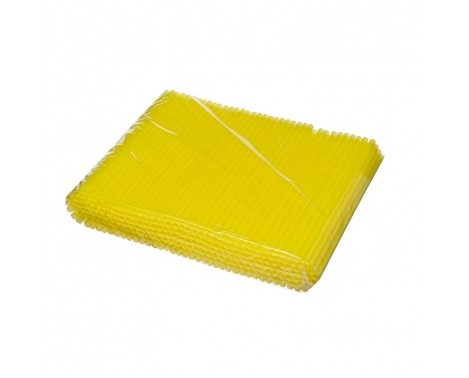 250 stk Shake sugerør gul 25cm