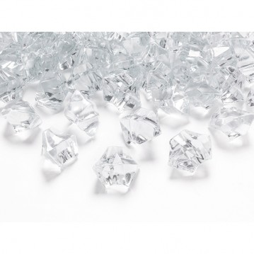 Krystal Pynte diamanter 50 stk. Klar - 2,5 x 2,1 mm