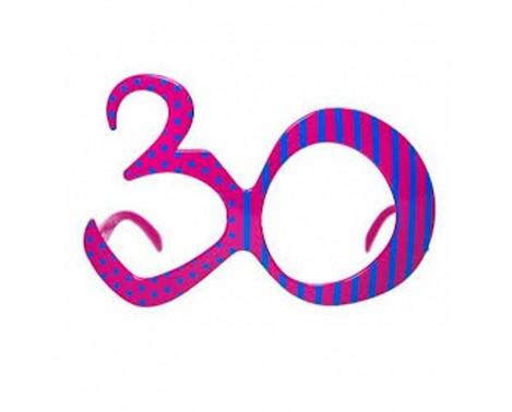 Festbrille til 30 års fødselsdag