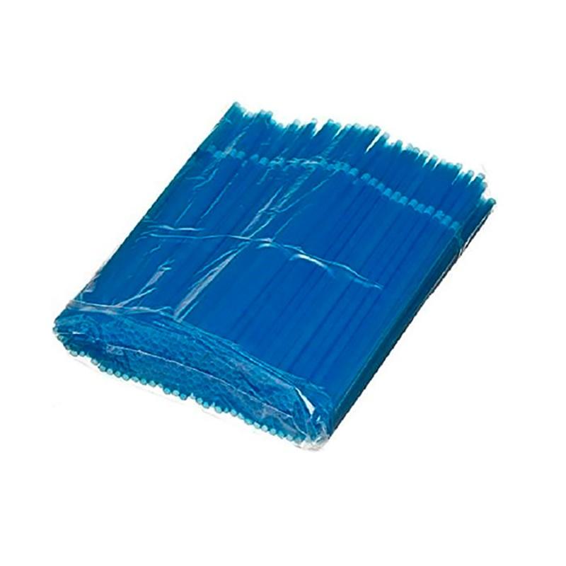 Billede af 250 stk Knæksugeør blå 24 cm