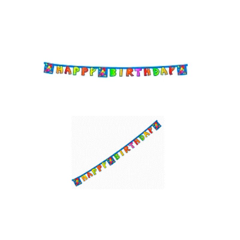 Billede af 1 stk. Kokliko Happy Birthday Banner