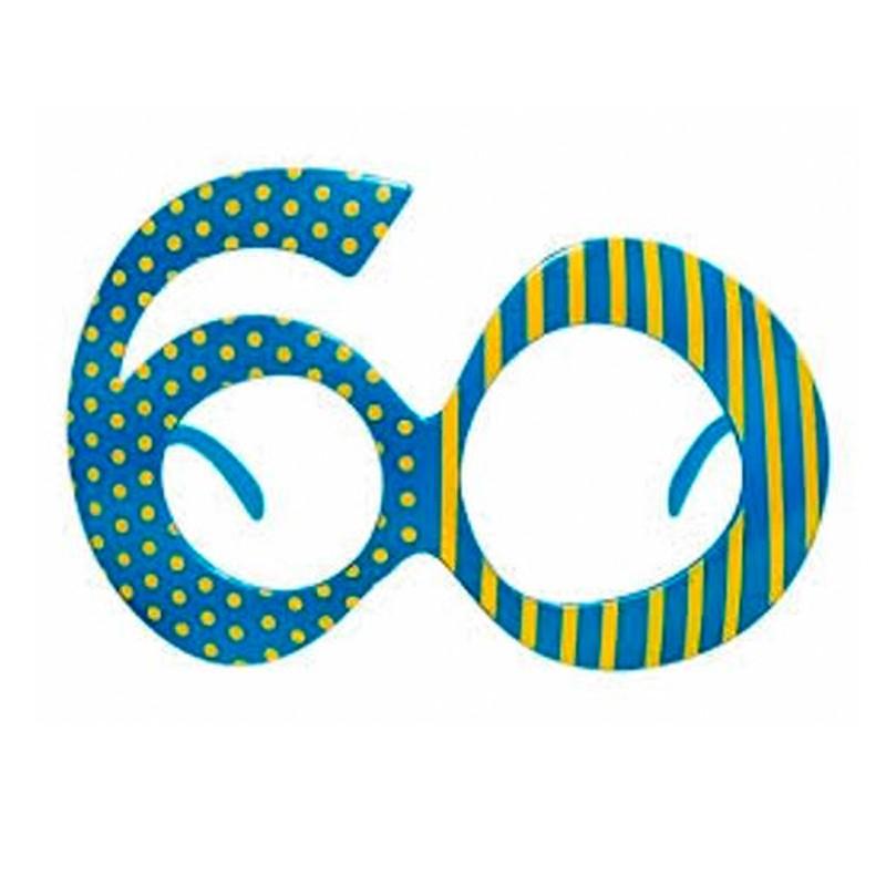 Festbrille til 60 års fødselsdag