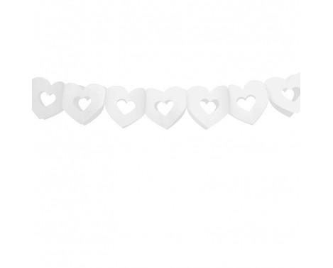 1 stk bryllups banner med hjerter