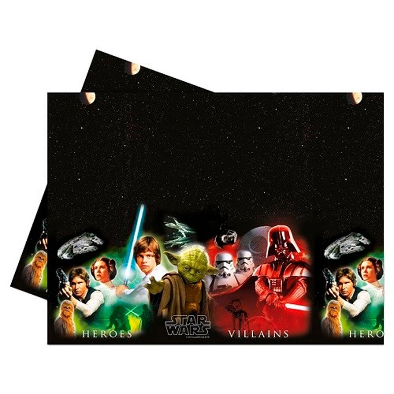 Billede af Plastikdug Star Wars & Heroes 1 stk