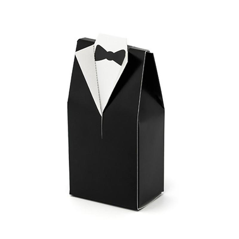 10 stk. Favor æske i Kjolesæt - til bryllup eller Konfirmation
