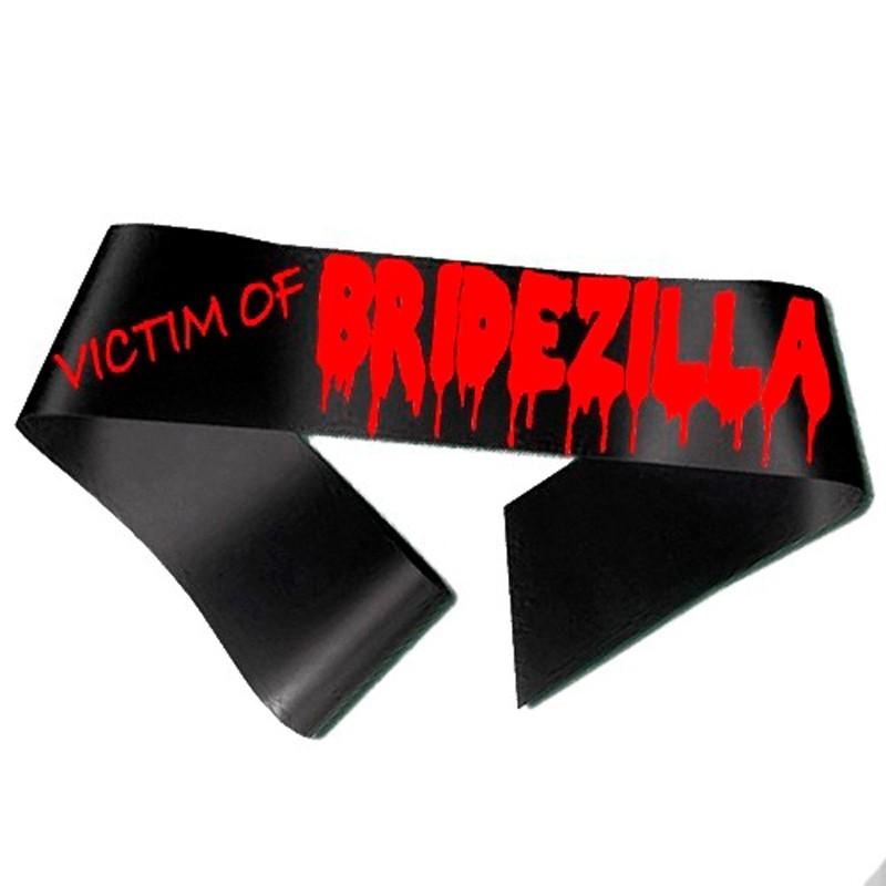 Billede af Victim of Bridezilla Ordensbånd sort