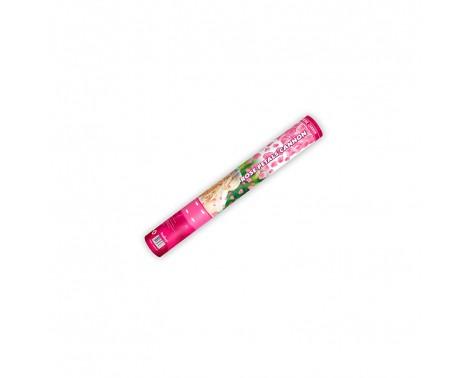 Konfettirør - Rosenblade silke Rosa, 40 cm