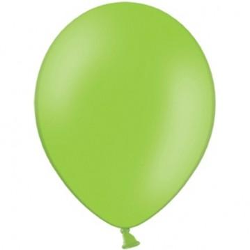 """20 stk Standard limegrøn balloner - str 12"""""""