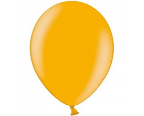 "100 stk Metallic guld balloner - str 10"""