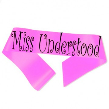 Miss Understood Ordensbånd Neon Pink
