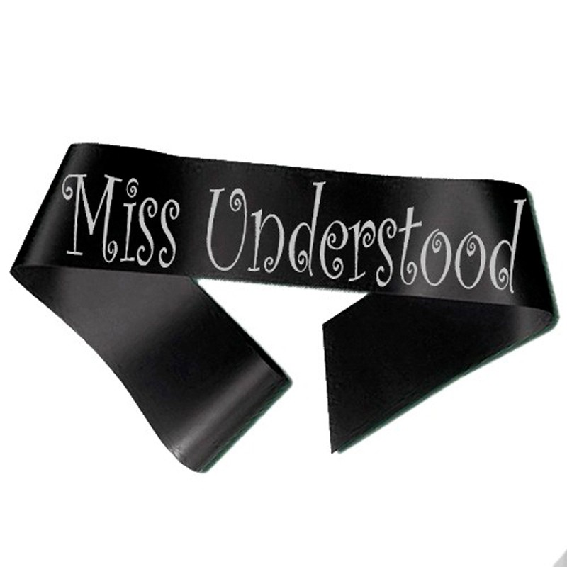 Miss Understood Ordensbånd Sort