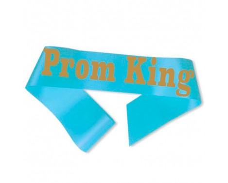 Prom King Ordensbånd Lyseblå
