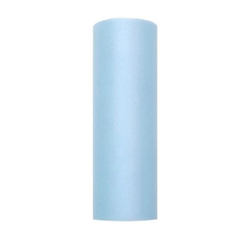 Billede af Tyl i Himmelblå 0,15 x 9 meter.