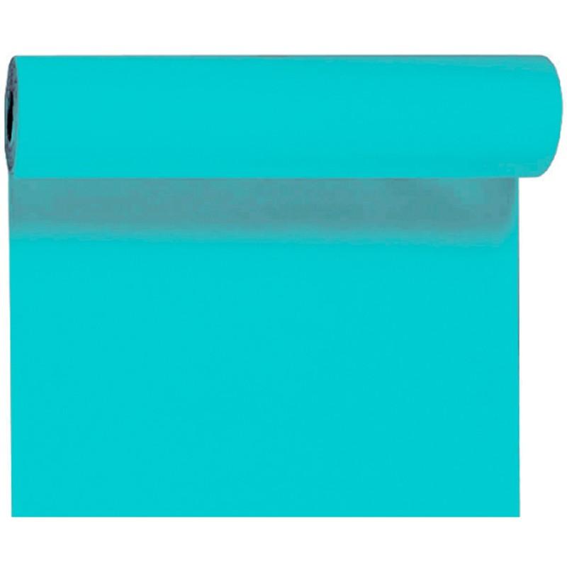 Billede af Mint blå bordløber og kuvertløber 40 cm bred