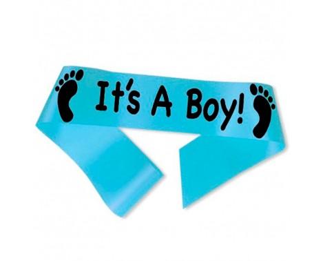 It´s A Boy! ordensbånd i lyseblå