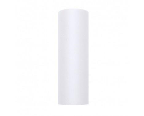 Tyl i Hvid 0,15 x 9 meter.