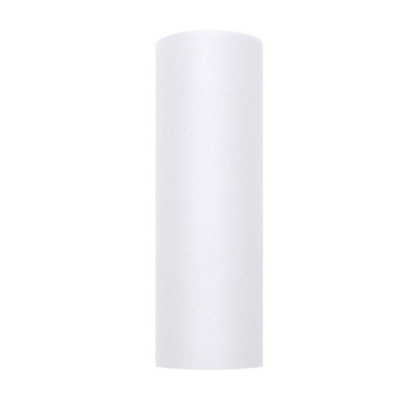 Billede af Tyl i Hvid 0,15 x 9 meter.