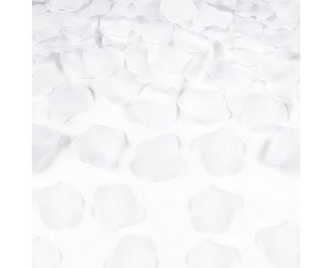 Rosenblade 500 stk hvid silke